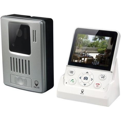 SCS SENTINEL Visiophone sans fil mains libres ecran LCD 3.5 pouces WDP-100