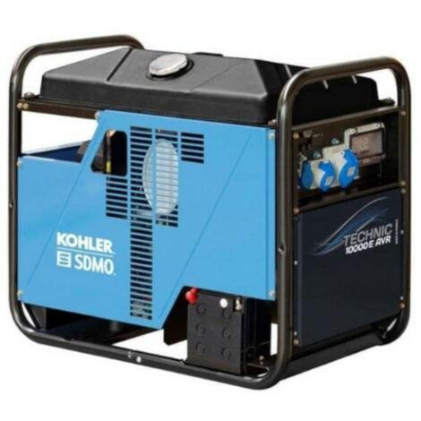 SDMO - Groupe électrogène Mono moteur Kohler essence 10.5kW - TECHNIC 10000 E AVR
