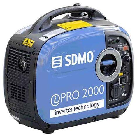 SDMO Groupe électrogéne portable 2kW essence - INVERTER PRO 2000