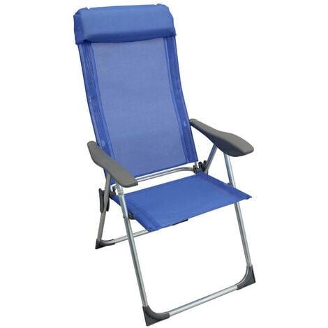Sedia A Sdraio Pieghevole.Sdraio Pieghevole In Alluminio E Textilene Per Campeggio Spiaggia