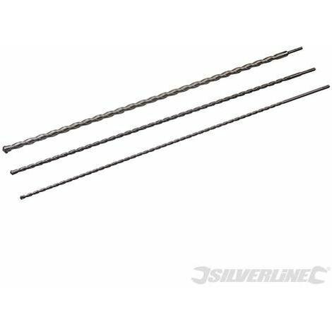 SDS Plus Masonry Drill Bit Set 3pce - 1000mm (125628)