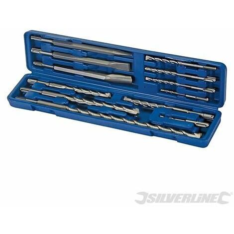 SDS Plus Masonry Drill & Steel Set 12pce - 12pce (633750)