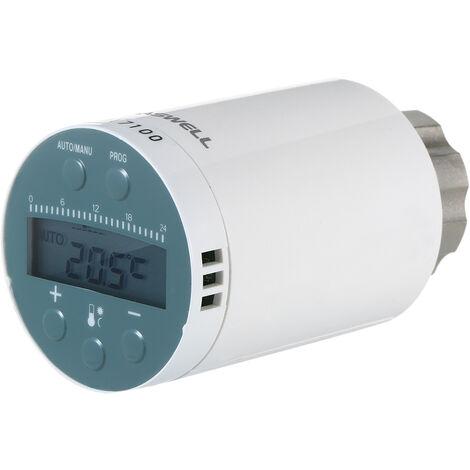 SEA801-ZIGBEE Termostato de radiador de calefaccion inteligente