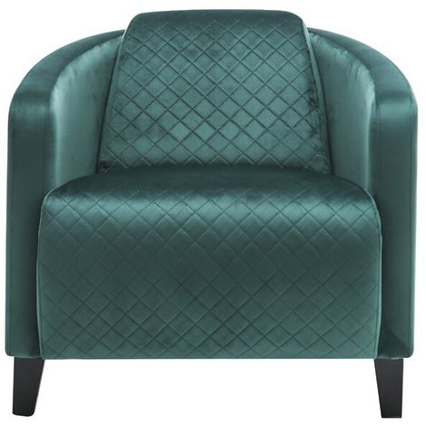 Seagrass Green Velvet Sofa Chair