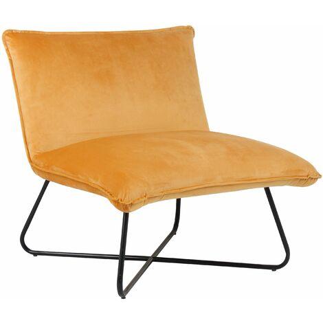 Seal Grey Velvet Pillow Upholstered Luca Lounge Chair, W73xD74xH72 cm