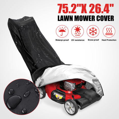 Sealed Behind Uv Rain Dust Storage Lawn Mower Pusher