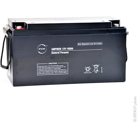 Sealed lead acid battery 12V 160Ah M8-F