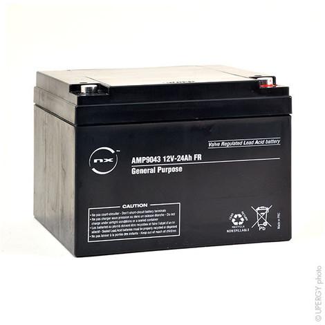 Sealed lead acid battery 12V 24Ah M5-F