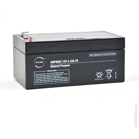 Sealed lead acid battery 12V 3.2Ah F4.8