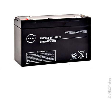 Sealed lead acid battery 6V 10Ah F6.35
