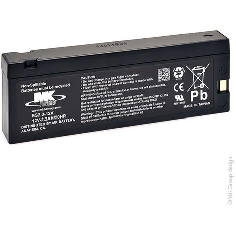 Sealed lead acid battery ES2.3-12V 12V 2.3Ah TU