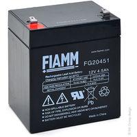 Sealed lead acid battery FG20451 12V 4.5Ah F4.8