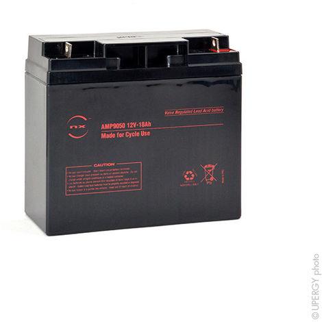 Sealed lead acid battery NX 18-12 Cyclic 12V 18Ah M6-M