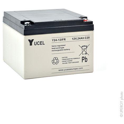 Sealed lead acid battery YUCEL Y24-12IFR 12V 24Ah M5-F