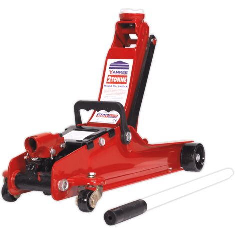 """main image of """"Sealey 1050CXLE Trolley Jack 2tonne Low Entry Short Chassis"""""""