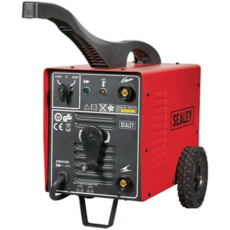 Sealey 220XTD Arc Welder 220Amp 230/415V 3ph with Accessory Kit