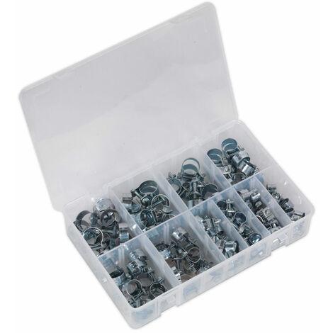 Sealey AB042MH Mini Hose Clip Assortment 100pc