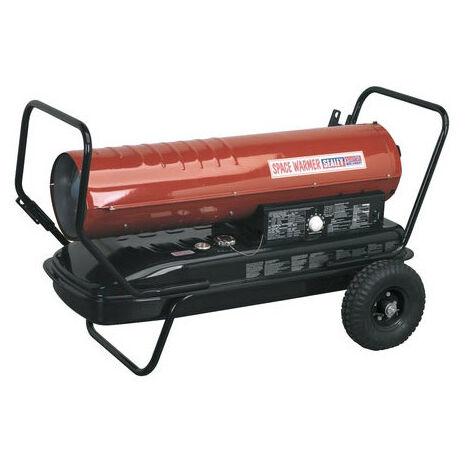 Sealey AB2158 215,000Btu/hr Space Warmer Paraffin, Kerosene & Diesel Heater with Wheels