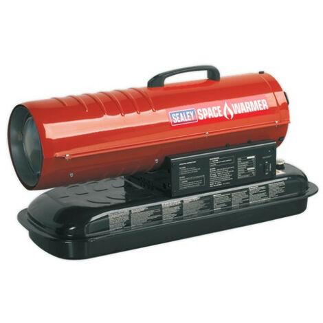 Sealey AB458 Space Warmer Paraffin/Kerosene/Diesel Heater 45,000Btu/hr without Wheels