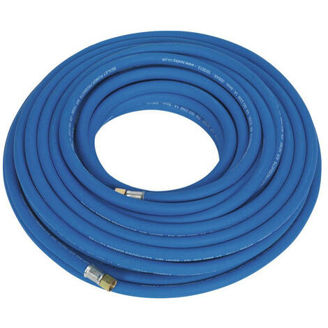 "Sealey AH20R 20mtr x Diameter 8mm Extra Heavy-Duty Air Hose with 1/4""BSP Unions"