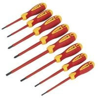 Sealey AK6124 Screwdriver Set 8pc VDE/TUV/GS Approved