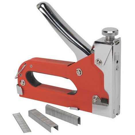 Sealey AK7061 Heavy-Duty Staple & Nail Gun