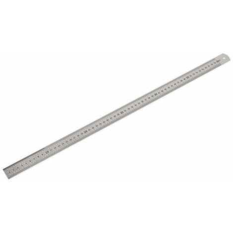 """Sealey AK9642 Steel Rule 600mm/24"""""""