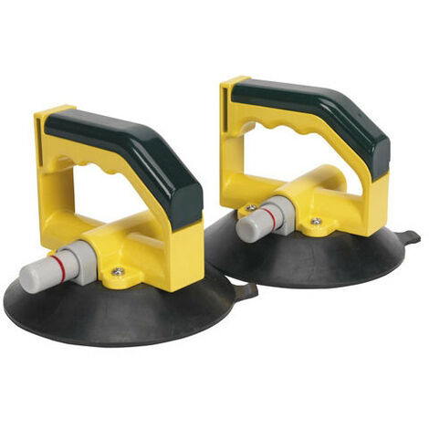 Sealey AK98943 Vacuum Suction Cup - Pair
