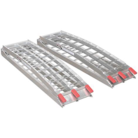 Sealey Aluminium Loading Ramps 680kg Capacity per Pair