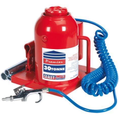 Sealey AM30 Bottle Jack 30tonne Manual/Air Hydraulic
