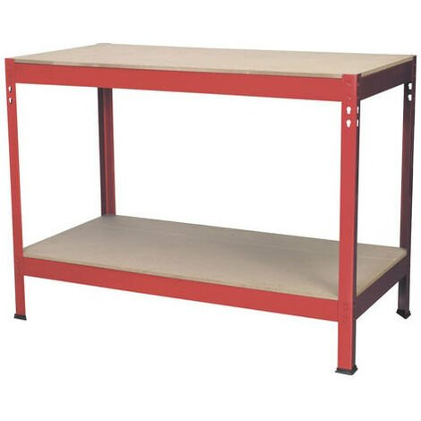 Sealey AP1210 1.2mtr Steel Workbench with Wooden Top