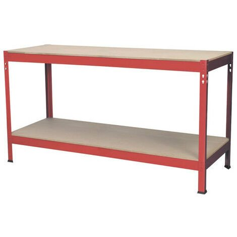 Sealey AP1535 1.53mtr Steel Workbench with Wooden Top