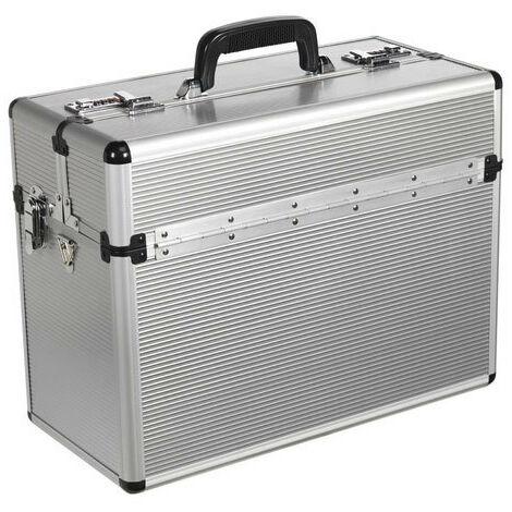 Sealey AP605 Aluminium Pilot Style Tool Case - Fully Polished
