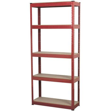 Sealey AP6150 5 Shelf Racking Unit 150kg Capacity Per Level