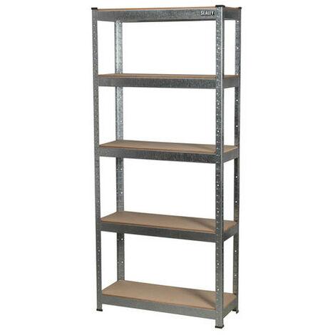 Sealey AP6150GS 5 Shelf Racking Unit - 150kg Capacity Per Level