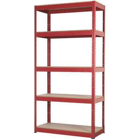 Sealey AP6350 5 Shelf Racking Unit - 350kg Capacity Per Level