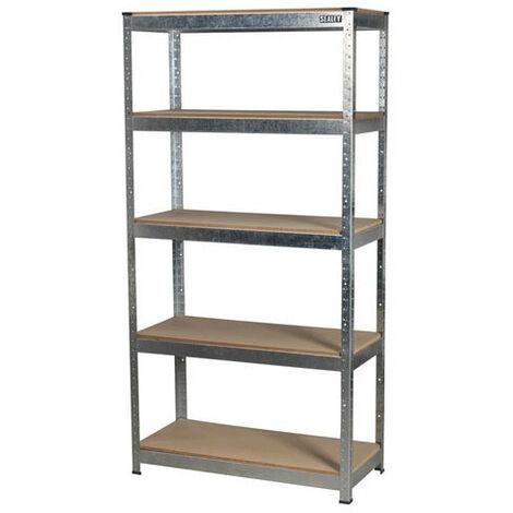 Sealey AP6350GS 5 Shelf Racking Unit - 350kg Capacity Per Level