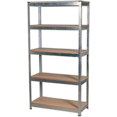 Sealey AP6350GS Racking Unit 5 Shelf 350kg Capacity Per Level