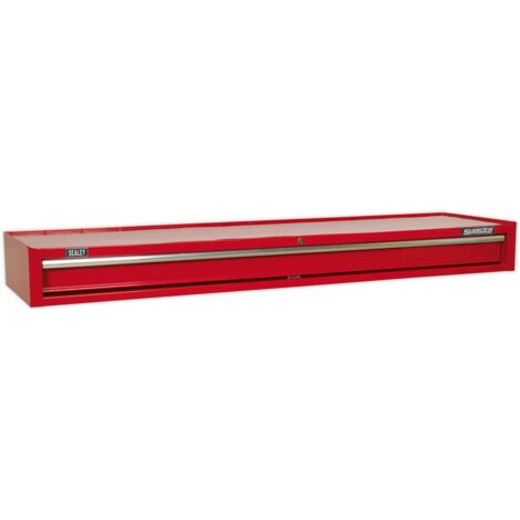 Sealey AP6601 Mid-Box 1 Drawer with Ball Bearing Slides Heavy-Duty - Red