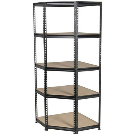 Sealey AP7150C 5 Level Corner Racking Unit 150kg Capacity Per Level