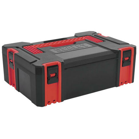 Sealey AP8150 Medium ABS Stackable Click Together Toolbox