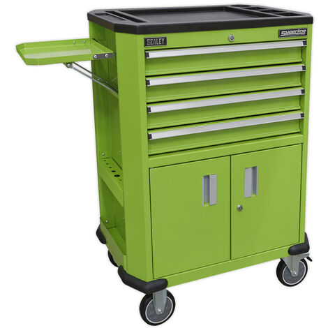 Sealey AP980MTHV Tool Trolley with 4 Drawers & 2 Door Cupboard