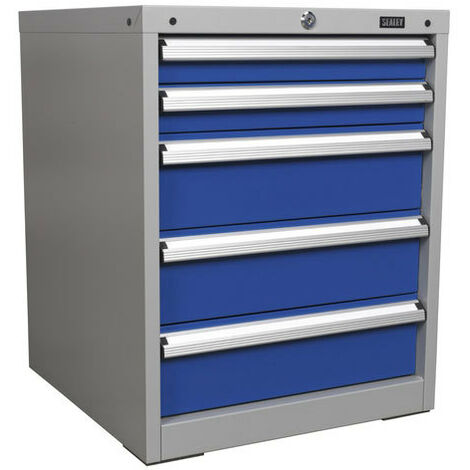Sealey API5655A 5 Drawer Industrial Cabinet