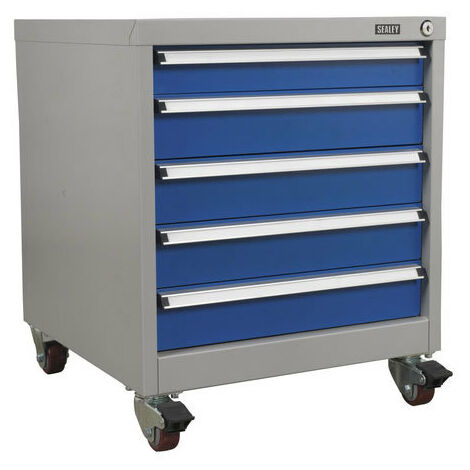 Sealey API5657A 5 Drawer Mobile Industrial Cabinet