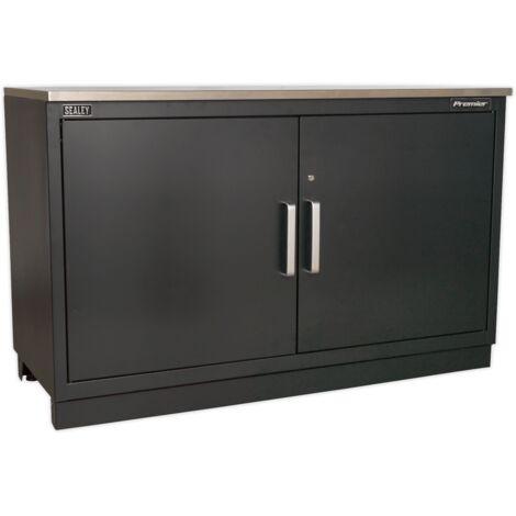 Sealey (APMS02) Modular Floor Cabinet 2 Door 1550mm Heavy-Duty