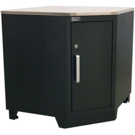 Sealey APMS15 Modular Corner Floor Cabinet 930mm Heavy-Duty
