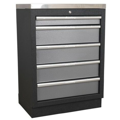 Sealey APMS59 Modular 5 Drawer Cabinet 680mm