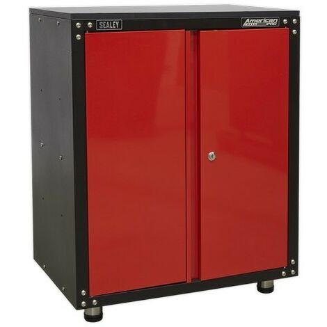 Sealey APMS81 Modular 2 Door Cabinet with Worktop 665mm