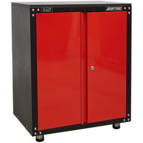 Sealey (APMS81) Modular 2 Door Cabinet with Worktop 665mm