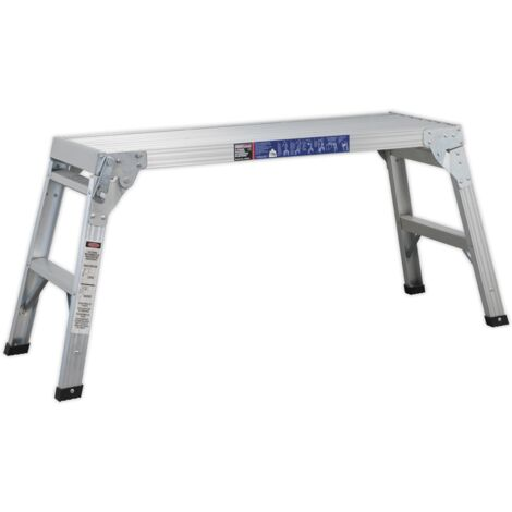 Sealey APS2E Aluminium Folding Platform 2-Tread EN 131
